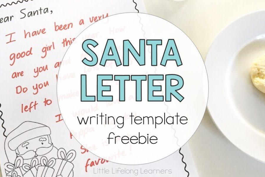 FREE Santa Letter Writing Template