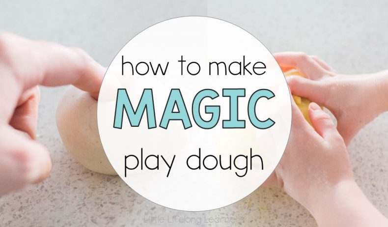 How To Make Magic Play Dough