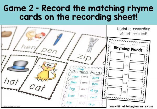 Rhyming Words Activity - Write the Room | Hands-on and engaging activities for learning about rhyming and word families | Kindergarten, Prep and Foundation | Printables for the classroom and early learning | Australian curriculum resources and worksheets |