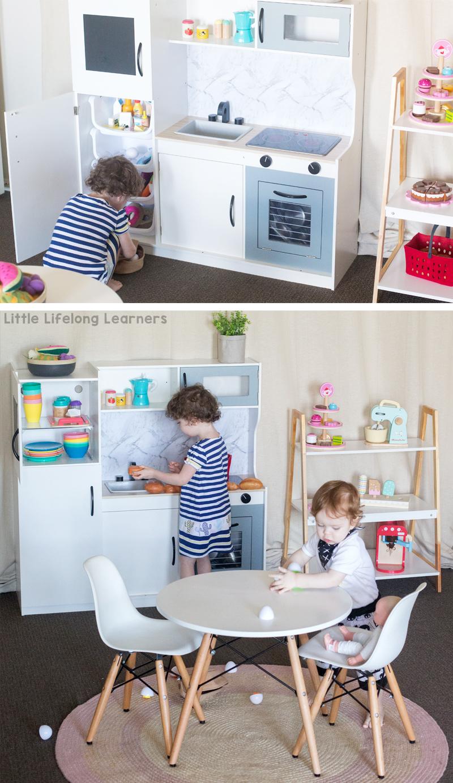 Kmart Kitchen for Kids - Little Lifelong Learners on toy kitchen knobs, toy kitchen dishes, toy kitchen appliances, toy kitchen cabinet, toy kitchen tables, toy kitchen faucet, toy kitchen sink,