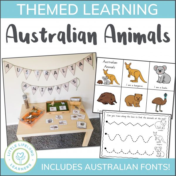 Learn all about Australian animals with your preschool kids and toddlers with these fun activities, craft, sensory play ideas and teaching printables! Teaching Australian Animals is so easy with these themed templates and lesson ideas. Set up an investigation table, explore numbers from 1 to 10, complete pre-writing activities and so much more!