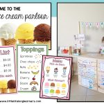 Ice cream shop dramatic play | Imaginative play ideas for toddlers, preschoolers and kindergarten children | Posters, signs, labels and printables | Role play in the early years classroom | Australian teachers and parents | Play-based, age appropriate pedagogies |