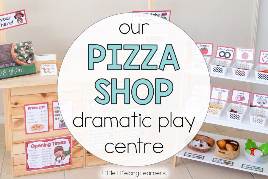 Pizza Shop Dramatic Play