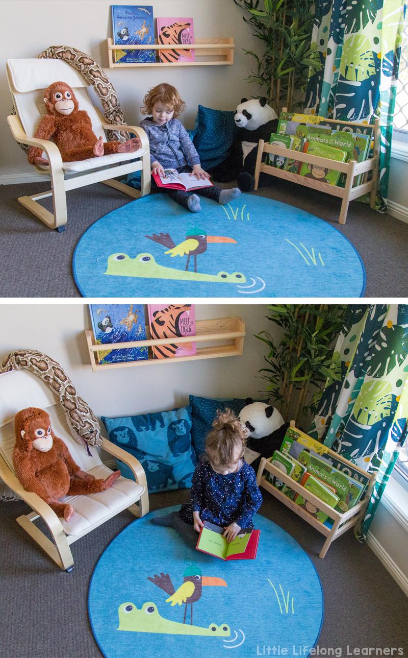 Our Ikea Reading Corner Little Lifelong Learners