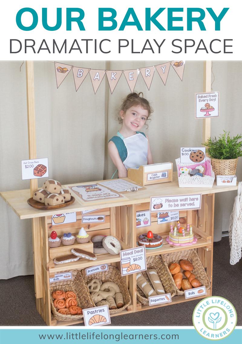Bakery Dramatic Play Little Lifelong Learners