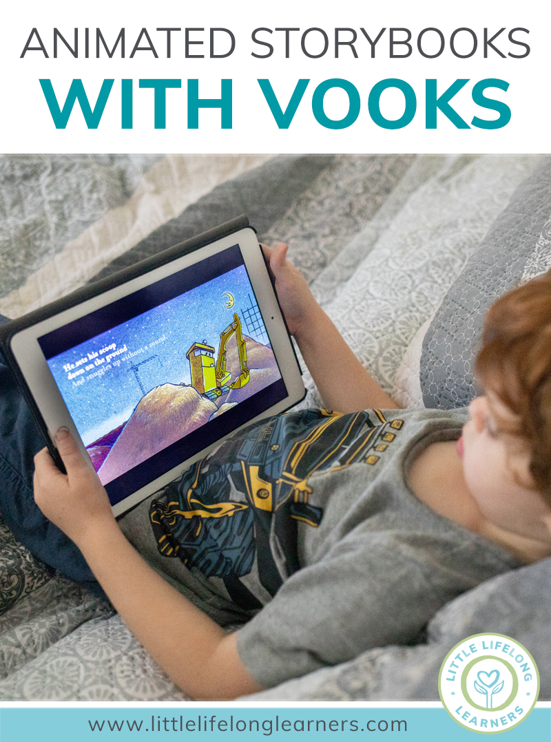 Looking for ways to make read alouds exciting and fun? If you're a classroom teacher, grab a free annual subscription to Vooks - a digital, animated storybook streaming service for toddlers, preschoolers and kindergarten children and students. Includes many of your favourite picture books and stories!